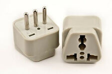 US American To Italy Plug Adapter Charger Italian Wall Outlet Converter 3 Prong