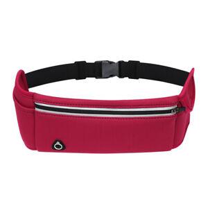 Fanny Pack Running Waist Bag Pack Sports Hiking Travel Money Belt Casual Bum Bag