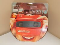 View-Master Early 70's Model L GAF Viewer - Red With Orange Ball Lever Vintage