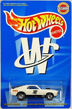 Hot Wheels Mustang Mach 1 Whites Guide SE #26228 New in Package 1999 White 1:64