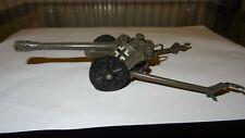 Vintage Britains artillery gun cannon 1973 die cast A pak ? it works