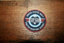 ECUSSON, PATCH VINTAGE TOP GUN UNITED STATES NAVY