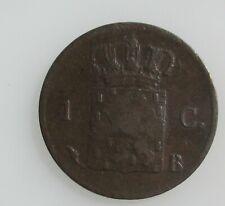 Nederland 1 cent 1827 B Willem I