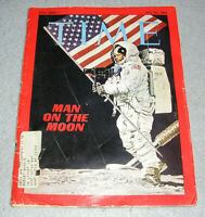 Time Magazine July 1969 First Man on the Moon Neil Armonstrong Astronaut Book