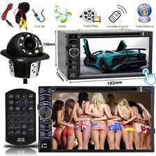 For Chevrolet Silverado 2 DIN Car Stereo DVD CD Player Radio Bluetooth TV+Camera