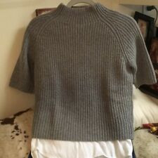 THEORY Wool/Cashmere Mock TNeck Sweater Soft, size S