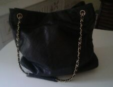 Chanel Large Vintage Shopper/Tote Bag In Lambskin. Great Price.