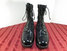 Wellco 2005 Ro-Search Black Leather Military Engineer Jungle Boots Men Sz 12R