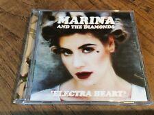 """Marina & The Diamonds """" Electra Heart"""" cd"""