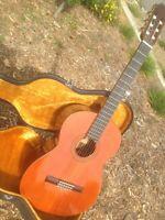 Aria AC 20 grand concert classical (or flamenco) guitar