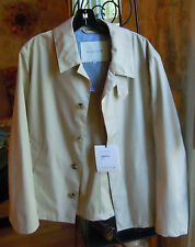 Mackintosh Men's Jacket NWT Light Beige Size 42/Large Made in Scotland