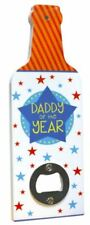 Daddy of the Year Bottle Opener Fathers Day Birthday Christmas Gift Wall Plaque
