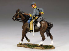 King & Country CW047 Mounted Confederate Loading Carbine Collectors Showcase PH