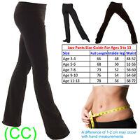 Ladies Girls Boys Men Dance Cotton Spandex Jazz Pants Trousers (CC)