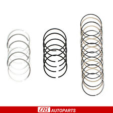 02-08 For JEEP LIBERTY 3.7L V6 Gas Nitrided Steel Top Rings VIN K
