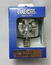 MKS [US-S Ezy] 112-061 Bicycle Pedal 2 Holes Cleats for Both Sides Binding JAPAN