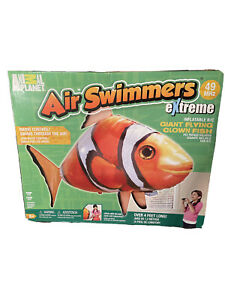 AIR SWIMMERS Remote Control Flying Clownfish NEW In Opened Box. by Animal Planet