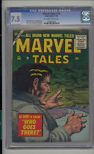 Marvel Tales #140 CGC 7.5 VF- Unrestored Marvel PCH Pre Code Horror OW/W Pages