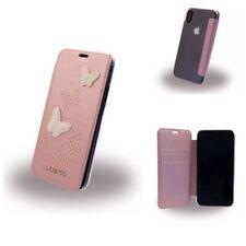 Original GUESS Studs and sparkle Book Cover Case étui Housse de protection pour iPhone X