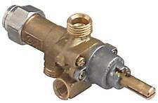 PEL PEL21S Gashahn mit Zündflamme Thermoelementanschluss M8x1 Achse ø 8x6,5mm