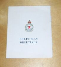400 SQUADRON ROYAL CANADIAN AIR FORCE CHRISTMAS GREETINGS CARD  RCAF
