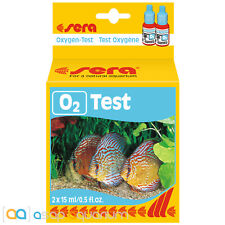 sera Oxygen O2 Test Kit 15mL 60 Tests for Freshwater Aquariums & Ponds
