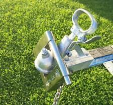 KOVIX KTR-18 Heavy Duty Stainless Steel Alarmed Trailer Lock