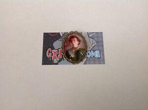 Drop dead Fred brooch pin clip rockabilly pin up girl retro vintage geek cute