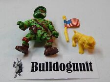 Raph the Green Teen Beret w/ Dog & Flag Teenage Mutant Ninja Turtles Figure 1991