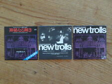 New Trolls: 3 Promo CDep Sleeve only [Japan Mini-LP no cd pfm goblin le orme Q