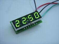 """0.28"""" Digital elektronische Uhr Clock 12V 24V Car Motorcycle LED Watch time gree"""