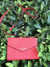 NWT Kate Spade Monday cedar street red envelope purse bag PWRU3541 Maraschino