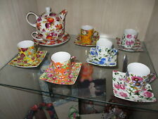 COLECCION DE TAZAS Y TETERA / Cups and teapot COLLECTION