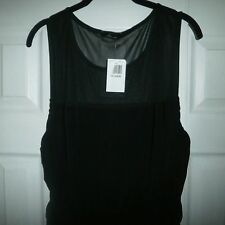NEW SOPRANO BLACK RUCHED SIDES JUNIOR DRESS SIZE 2XL MUST SEE GORGEOUS!