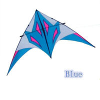 2.8m Power Triangle Delta Kite Resin Rod single line Outdoor Fun Sports Tool