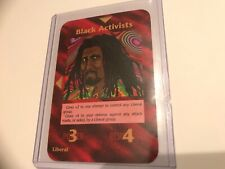 BLACK ACTIVISTS :  Illuminati INWO CCG: 1996 Limited Original TCG Liberal