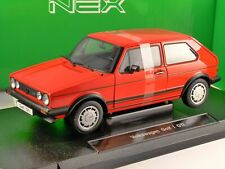 VOLKSWAGEN GOLF Mk1 GTi in Red 1/18 scale model by WELLY