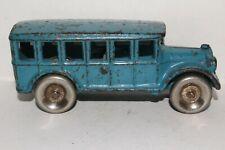 New Listing1930's Arcade Cast Iron Bus, Original