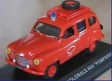 "nice French firetruck RENAULT COLORALE ""POMPIERS VENDEE""1953 - red - scale 1/43"