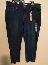 a029716b42e Levi's Levi Strauss 5448 Size 20w Womens Dark Blue SKINNY Jeans Ankle