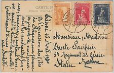 56692 -  ANIMALS: Dogs - TURKEY -  POSTAL HISTORY: Stamps on POSTCARD 1930