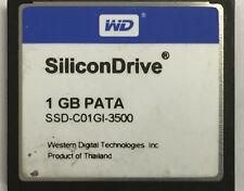 SSD-C01GI-3500 1GB WD SiliconDrive PATA Industrial Grade Compact Flash CF Card