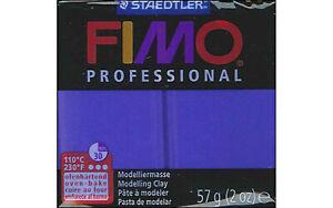 Fimo Professional Soft Polymer Clay 2oz Ultramarine