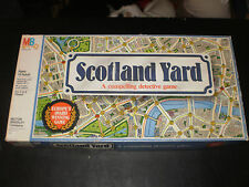 SCOTLAND YARD MILTON BRADLEY 1985 CONTENTS ARE VERY CLEAN!