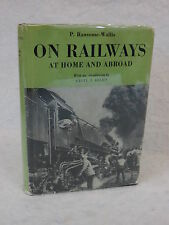 P. Ransome-Wallis  ON RAILWAYS   At Home and Abroad Spring Books HC/DJ