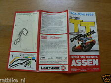 1989 FLYER DUTCH TT ASSEN 1989 GRAND PRIX,MOTO GP