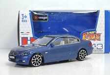 "Bburago 30010 BMW 335i ""Met Blu"" - METAL Scala 1:43"