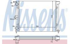 NISSENS Radiador, refrigeración del motor VOLKSWAGEN POLO SEAT TERRA 651711
