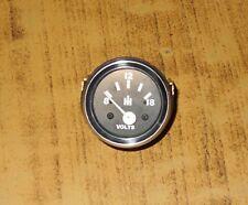 IH Tractor Volt Gauge Voltmeter VDO type 2 1 16 52mm 12V wwire Harness