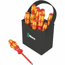 Wera 05004310001 Kraftform Plus VDE 2go 100 Screwdriver Set of 12 PH/PZ/TX/SL